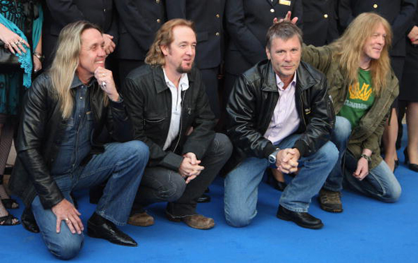 UK Film Premiere: Iron Maiden: Flight 666 - Outside Arrivals